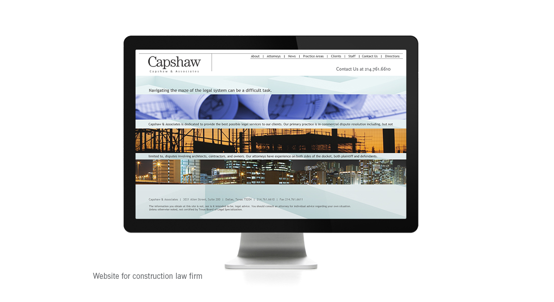 Capshaw website