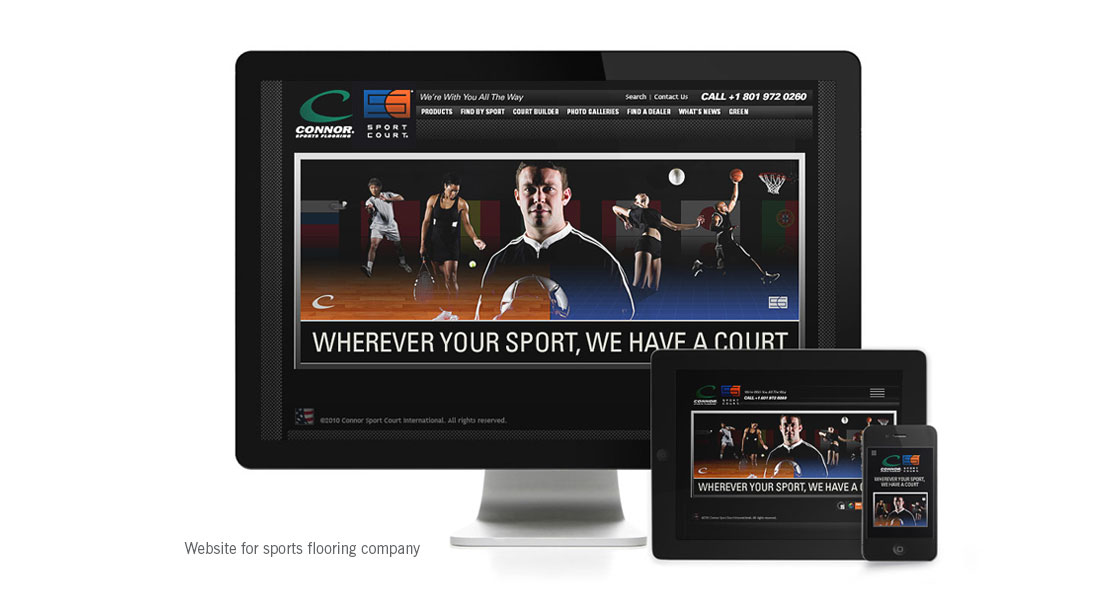 Sport Court website
